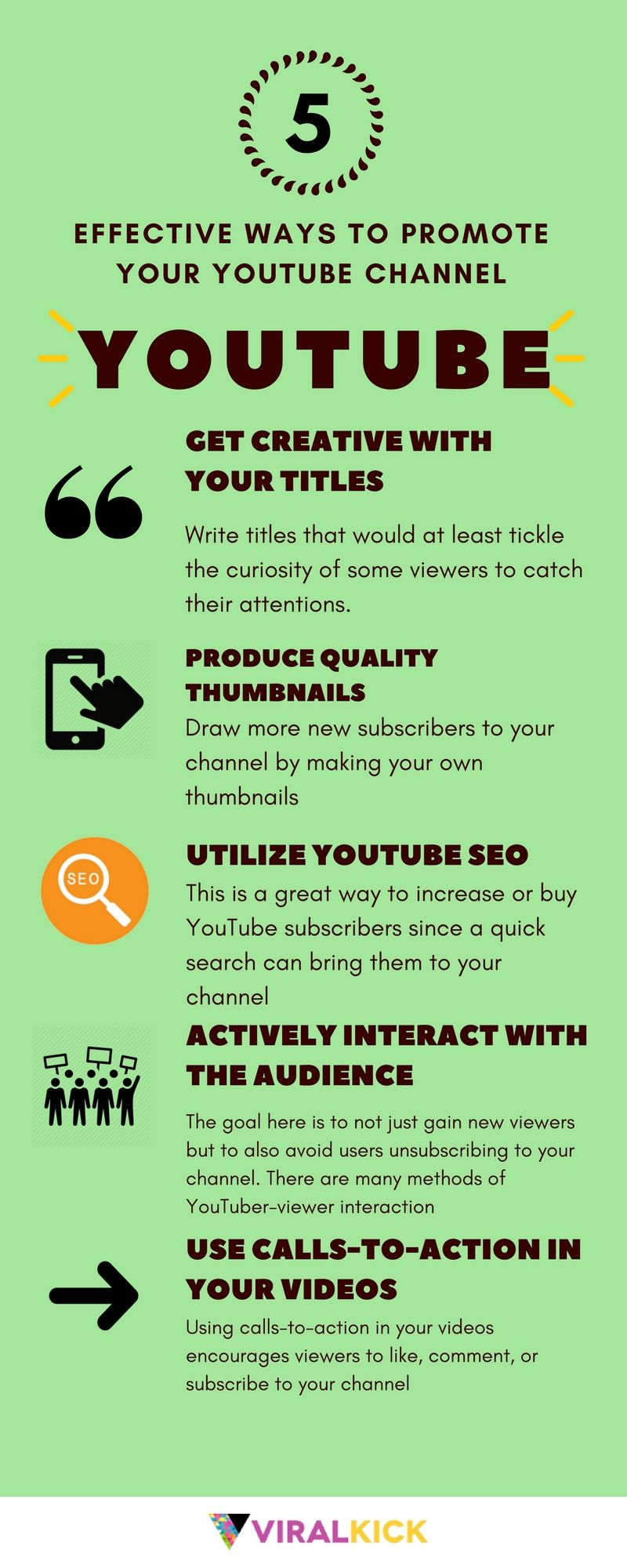 5 Effective Ways To Promote Your Youtube Channel You Youtube Instagram Followers Youtube Views
