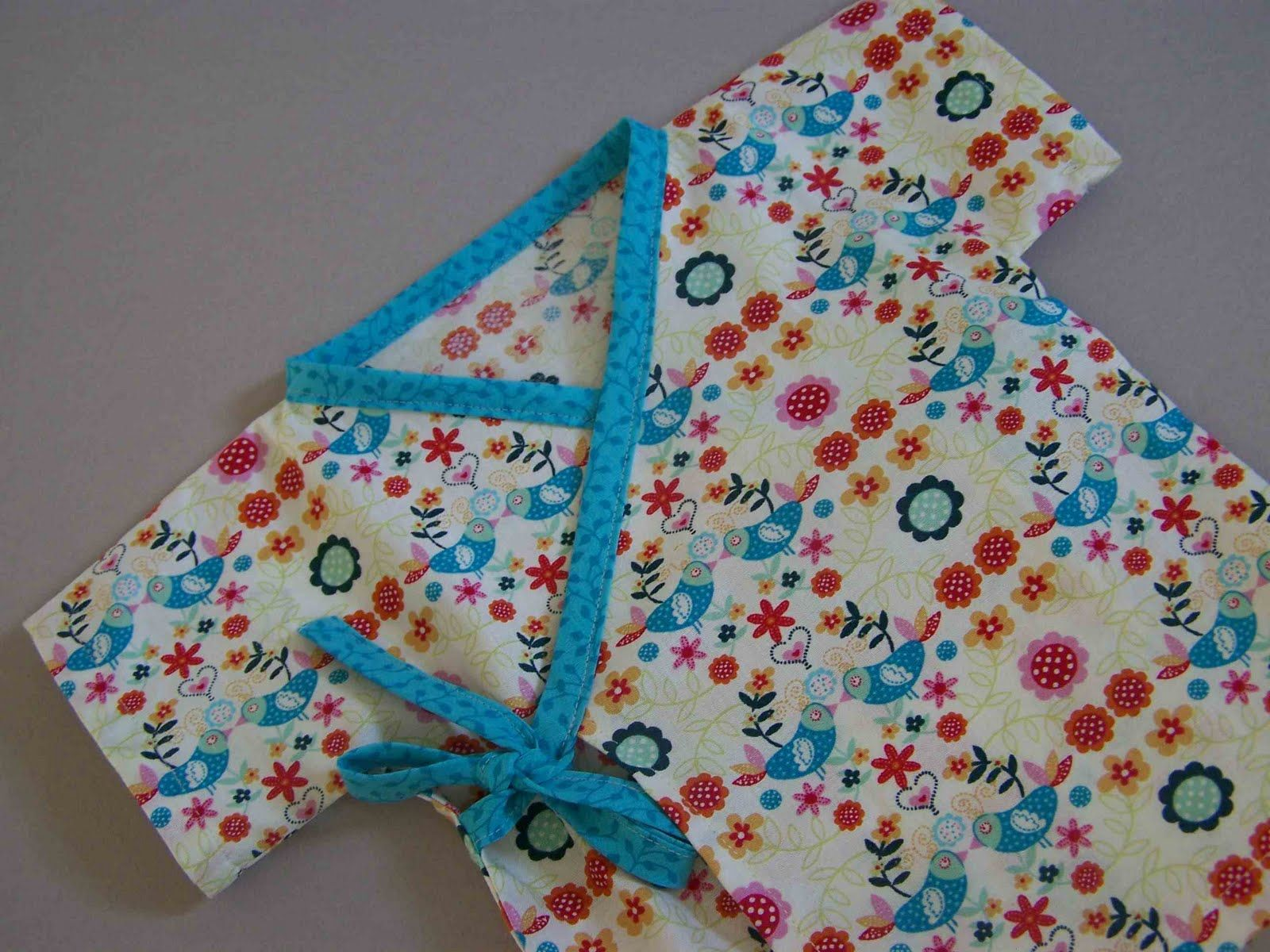 free infant wrap dress pattern | Baby Kimono Pattern Free | infant ...