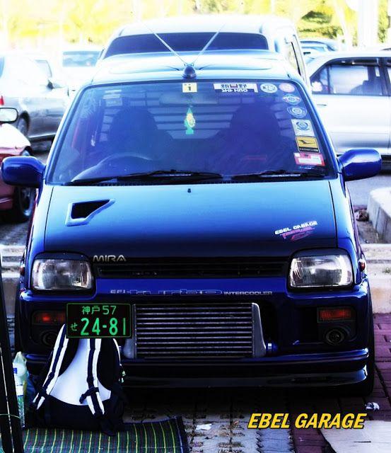 Updated Perodua Kancil Daihatsu Mira Photo Shots Daihatsu