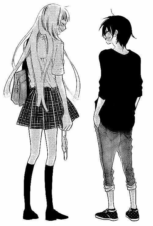 I found one more short guy and tall girl copies | Anime