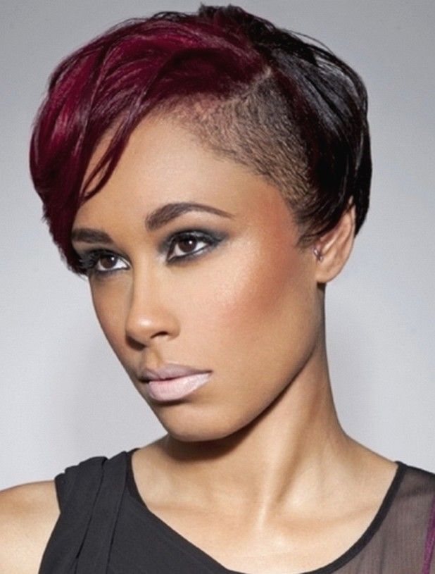 Hairstyles With Side Shaved The Best Hairstyle Blog Short Hair Styles Short Hair Styles Easy Short Hair Updo