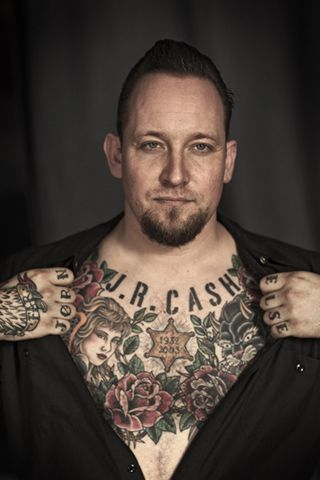 Tattoos poulsen volbeat michael Michael Poulsen