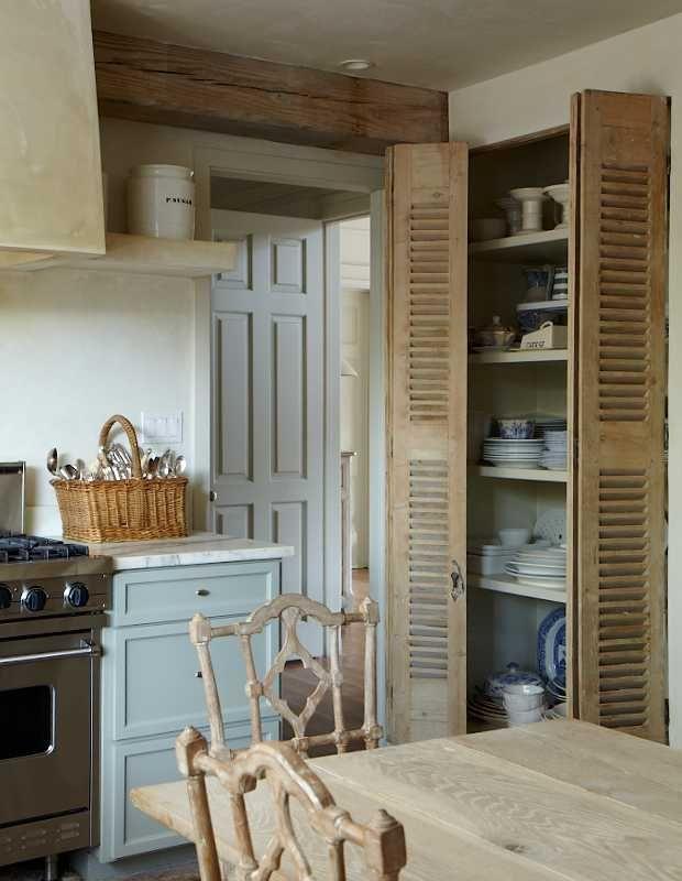 Celosia de madera para hacer puertas del armario del baño. | Baños ...