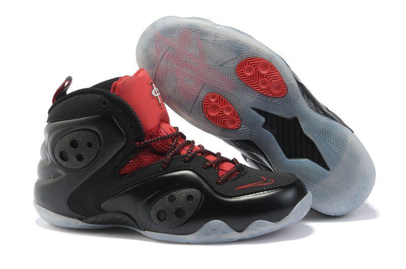 Womens Foamposite 2013 Cheap Red Black � Women\u0027s BasketballHalf Off NikesRed  BlackShoe ...