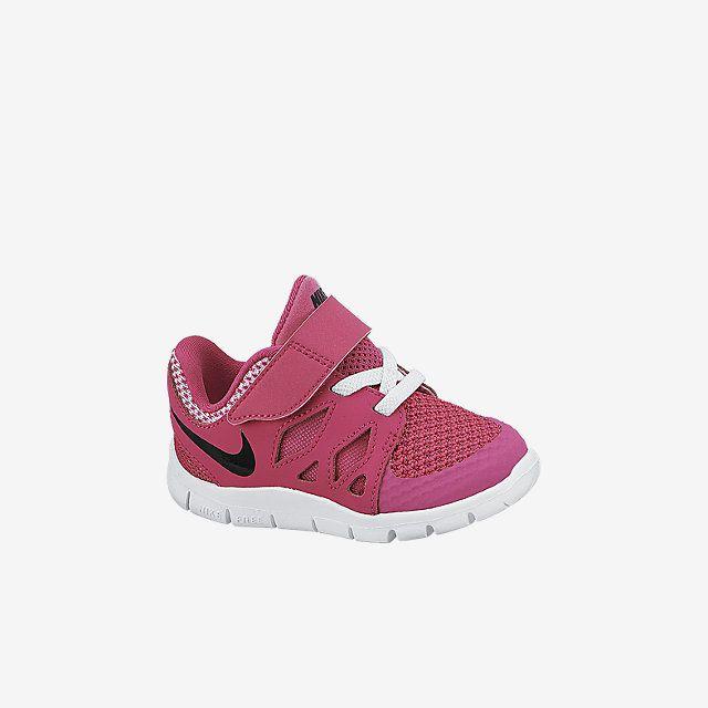 Nike Free 5.0 (2c 10c) Toddler Girls' Shoe. Nike Store