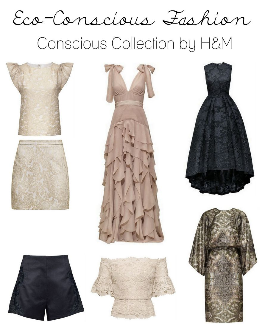 H&M's dynamite new eco-conscious collection is EVERYTHING. // via minneapolis.fearlessfashionista.com