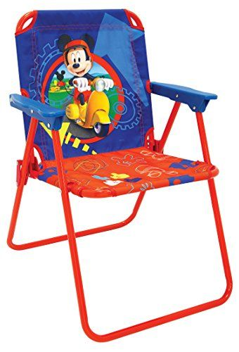 Kidsu0027 Folding Chairs   Mickey Mouse Clubhouse Capers Patio Chair ** Visit  The Image