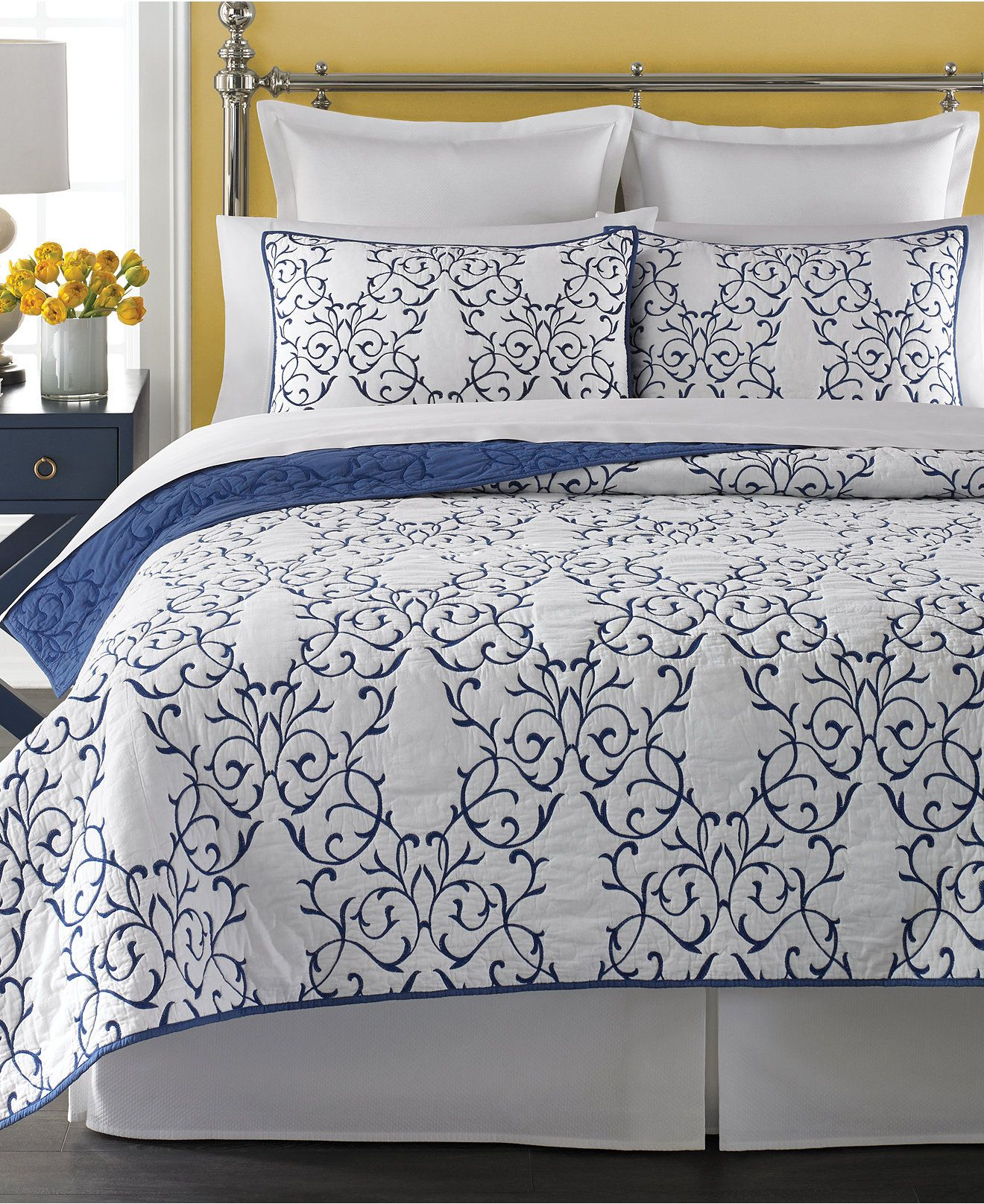 Martha Stewart Collection Chateau Quilts Quilts Bedspreads Bed