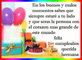Frases/chistosas/para/una/hermana/en/su/cumple/años - Google Search