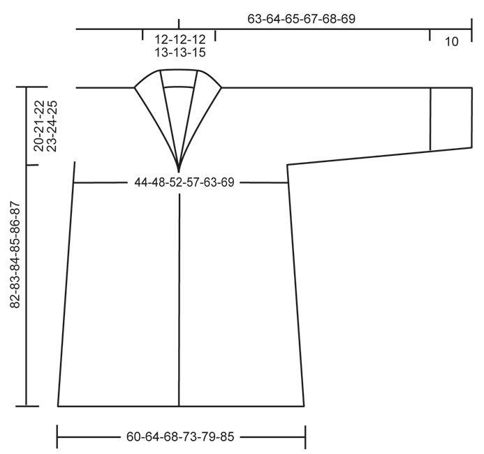"""Autumn Elegance - Veste DROPS avec col châle, en """"Puddel"""". Du S au XXXL. - Free pattern by DROPS Design"""