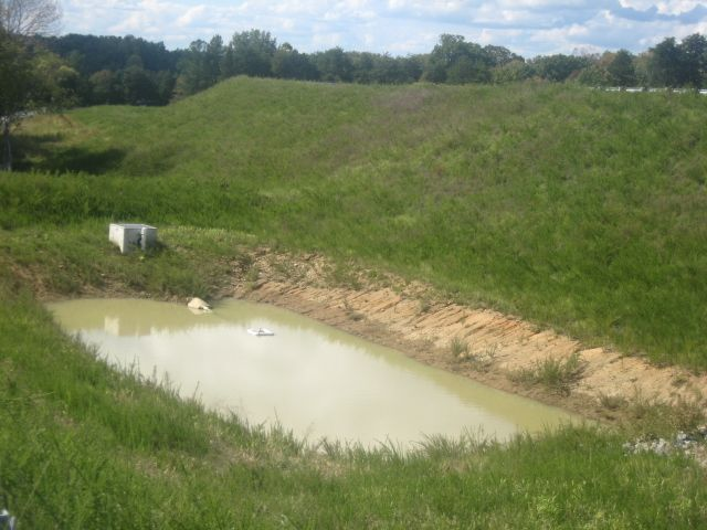 Retention Pond Holding Pond Catch Basin Retention Pond Outdoor Pond