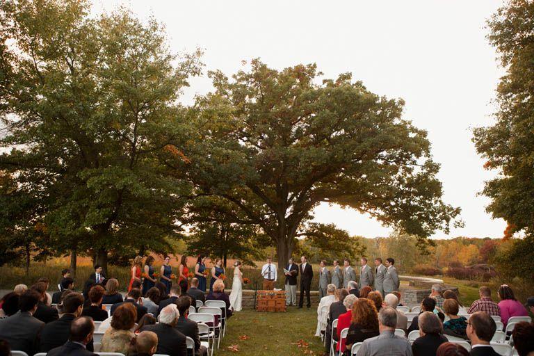 Michigan Outdoor Wedding Indian Springs Metropark
