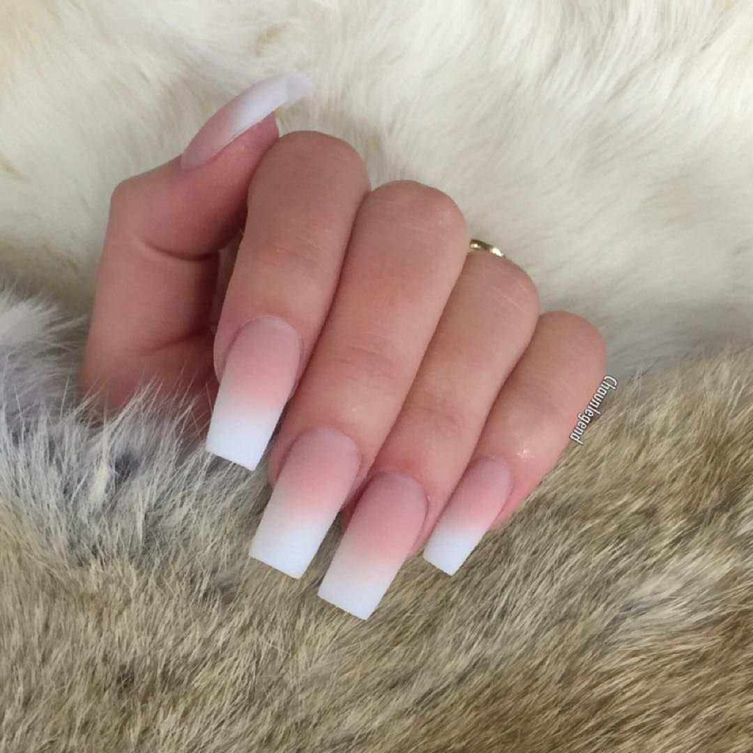 French Ombres Chaun Legend | Coffin Nails | Pinterest ...