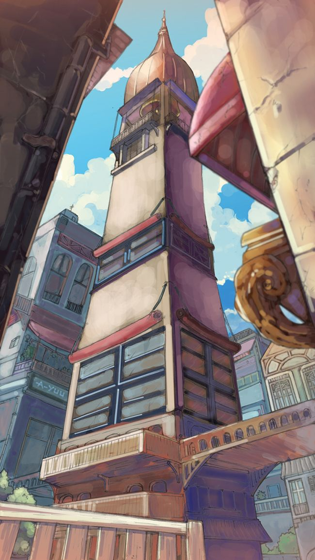 3 Point Perspective Colored By Cos22 On Deviantart Perspective Art One Point Perspective 3 Point Perspective