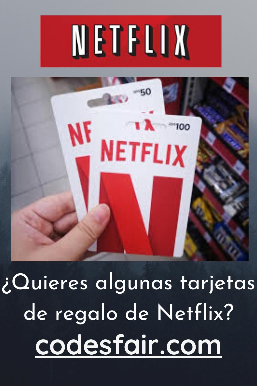 Quieres Algunas Tarjetas De Regalo De Netflix Netflix Gift Card Codes Netflix Gift Card Netflix Gift