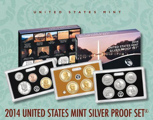 2014 United States Mint Silver Proof Set (SW1) - http://www.rekomande.com/2014-united-states-mint-silver-proof-set-sw1/