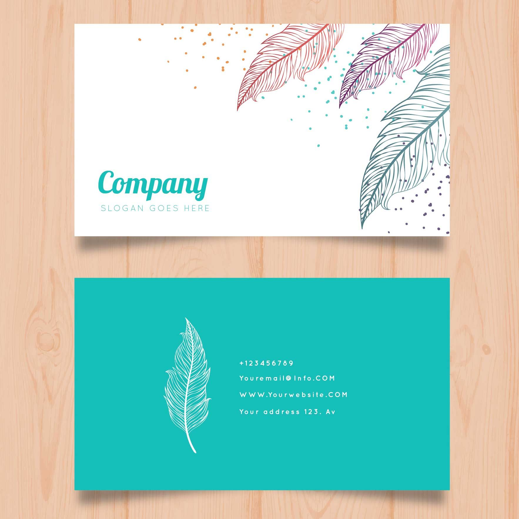 Flower Shop Business Card Template Bc012 Visiting Card Design Visiting Cards Visiting Card Templates