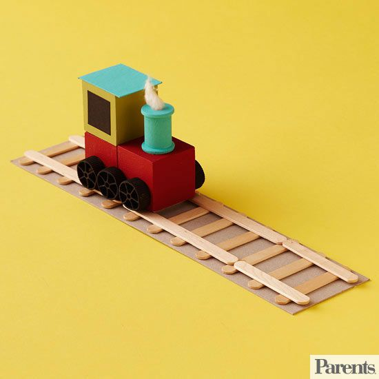These easy-to-make wood crafts will have both you and your little ones creating animals out of wooden clothespins and train tracks out of Popsicle sticks. Time to start crafting!