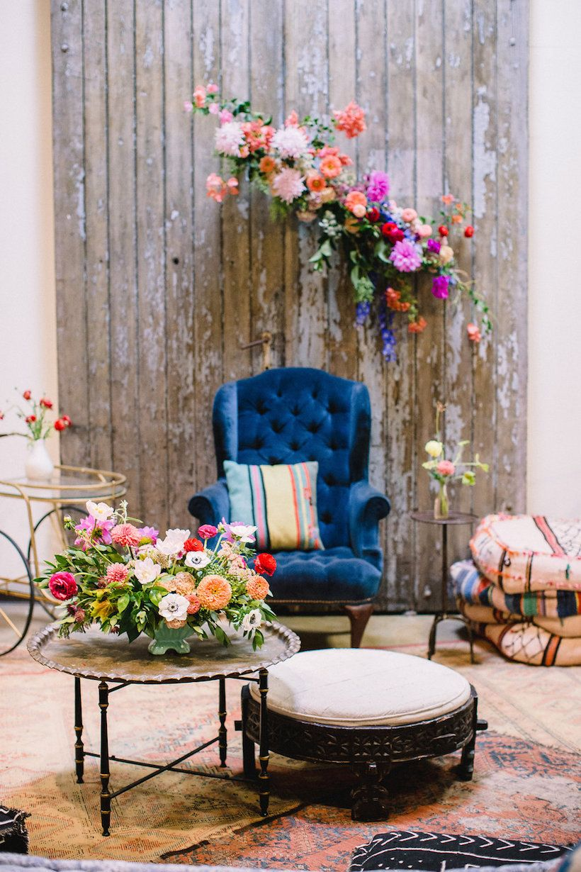 How To Throw A Baby Shower Like An Event Planner Pinterest Boho