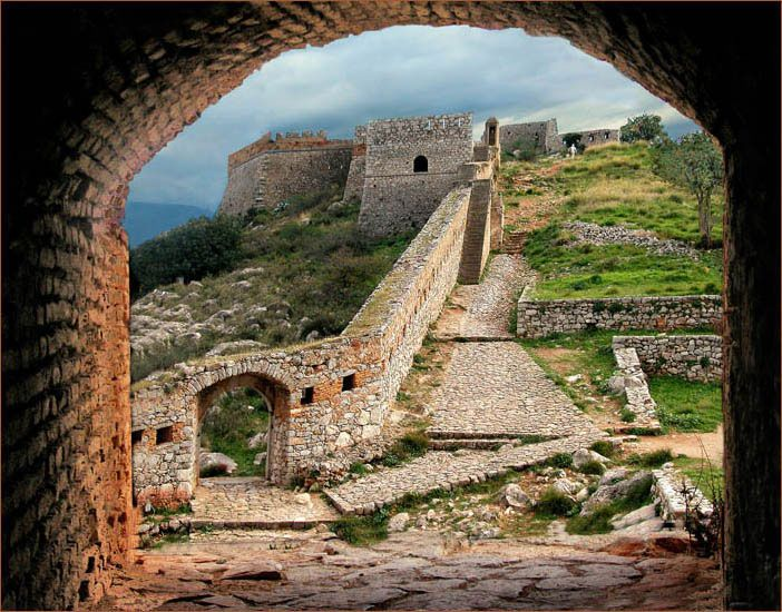 TRAVEL'IN GREECE I Palamidi fortress, #Nafplio, #Peloponnese, #Greece