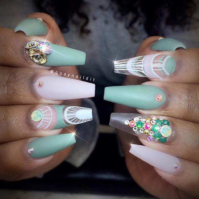 Pin de Anilu Ne en Uñas | Pinterest | Diseños de uñas, Arte de uñas ...