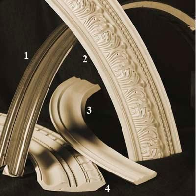 Flex Crown Molding Comes In An Array Of Profiles That Can Bend Around A Curved Wall Without The Need For Relie Moldings And Trim Crown Molding Flexible Molding