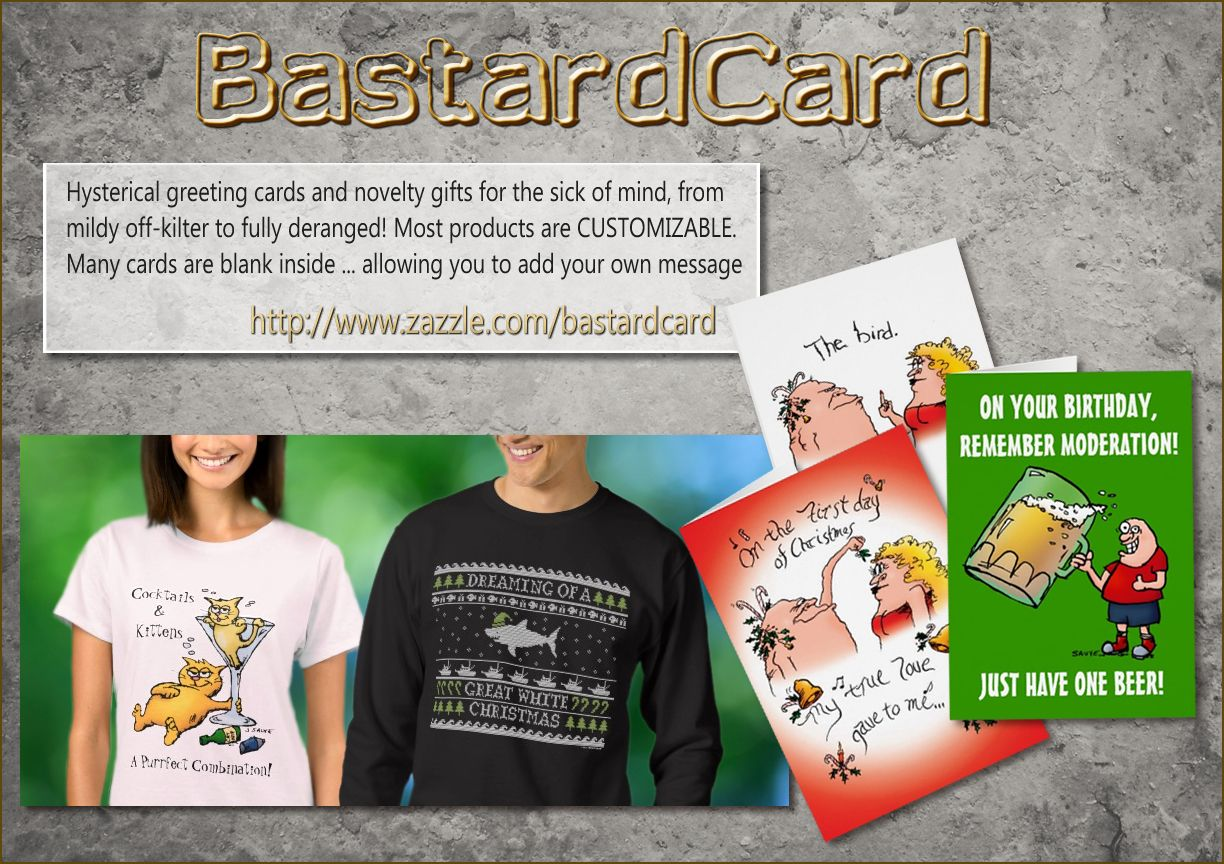 Hysterical Greeting Cards Christmas Gag Gifts And Clothing Funny