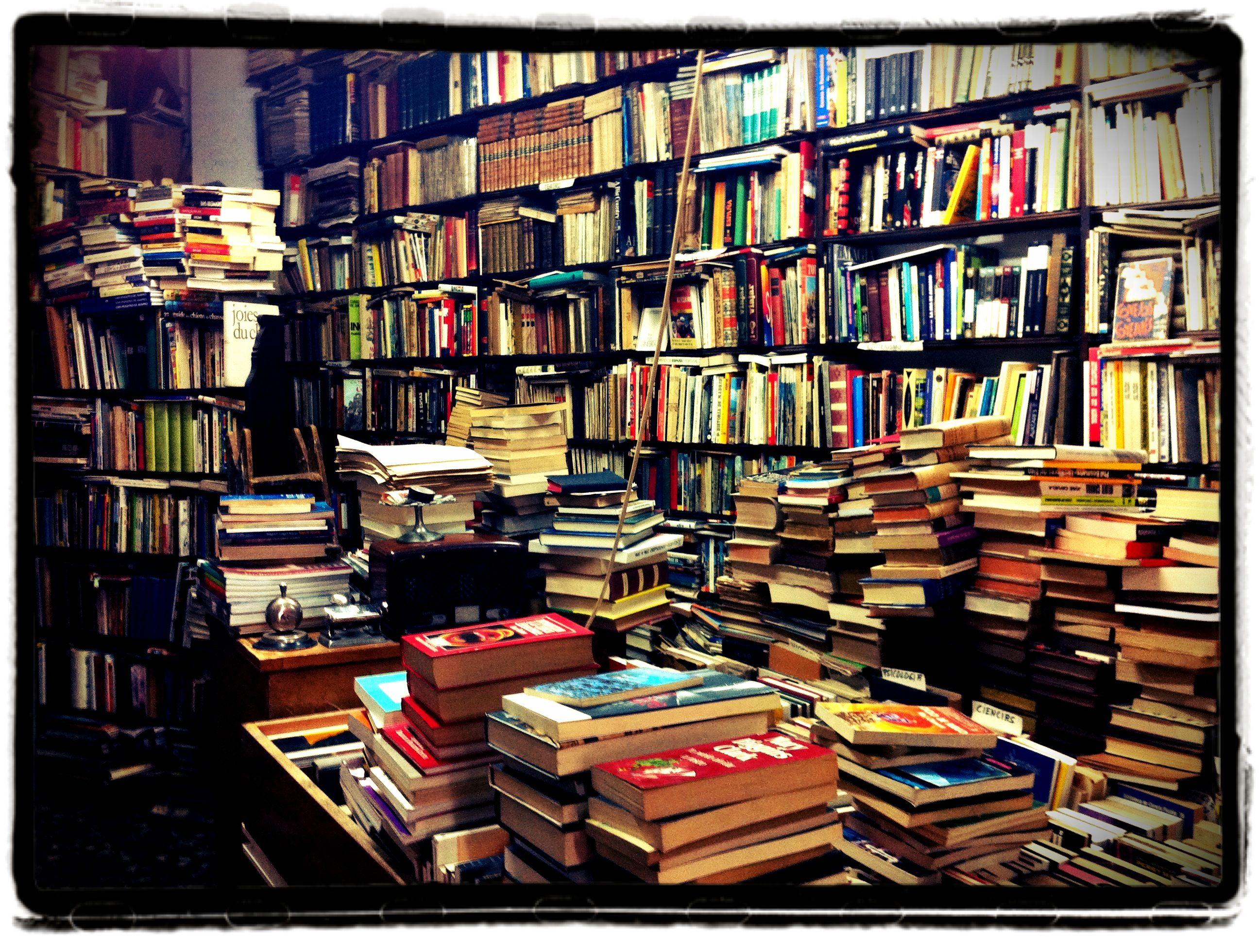 Vintage Book Store Books Bookstore Bookshop