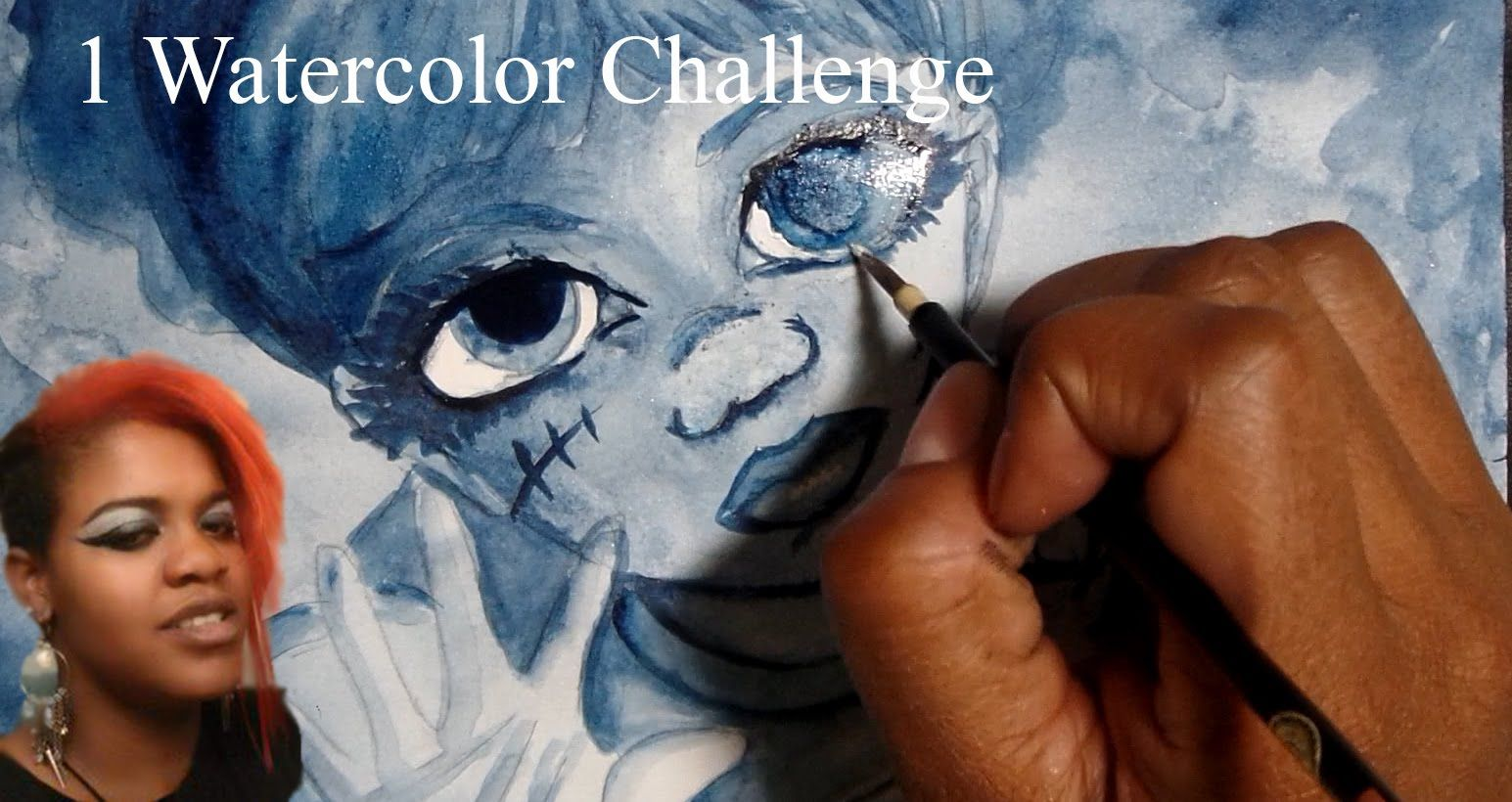 ~NEW CHALLENEGE~ ONE WATERCOLOR CHALLENGE