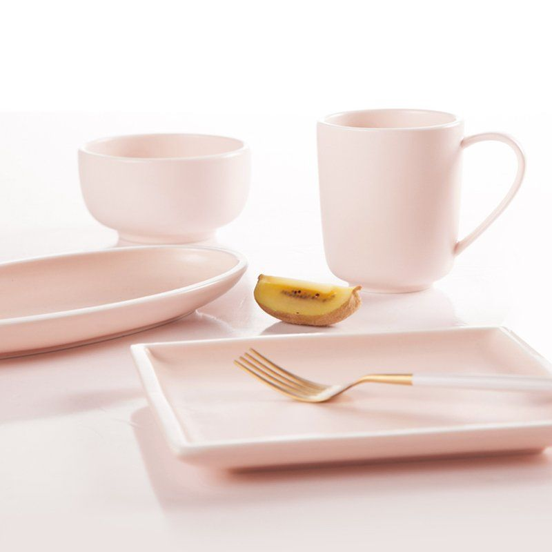 Few advantages of our Simple Style Smoothly Glaze Pink
