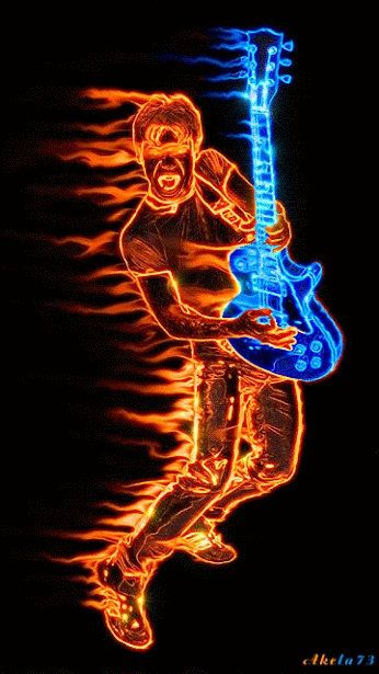 Buy 1 and Get 1 Free! Fractal Neon Man with Guitar Modern Cross Stitch Pattern Counted Cross Stitch Chart Needlecraft Pdf Format 148264-156