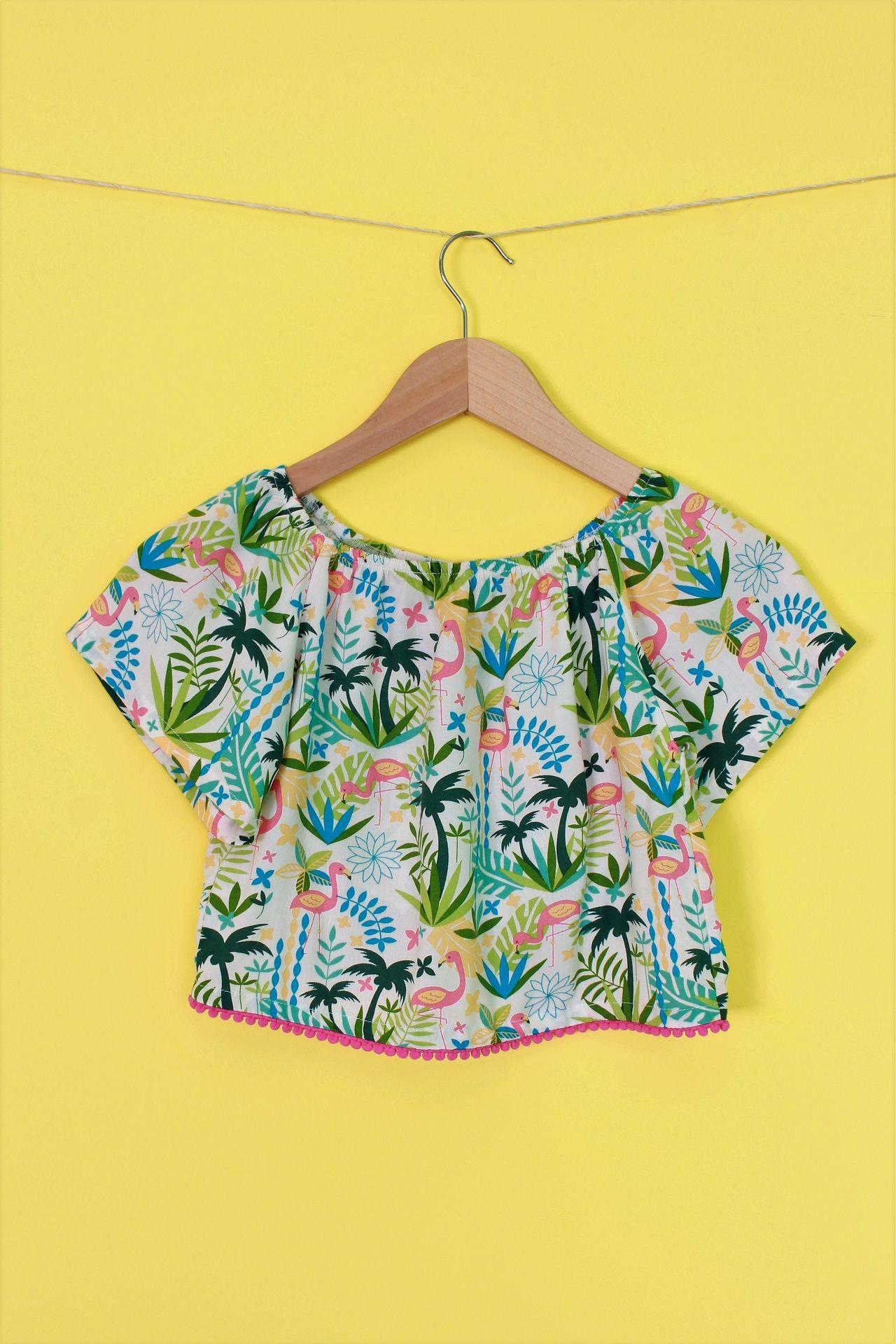 fb89668712 Blusa ciganinha infantil de viscose nos tamanhos 2 a 10. Compras na lojinha  online www