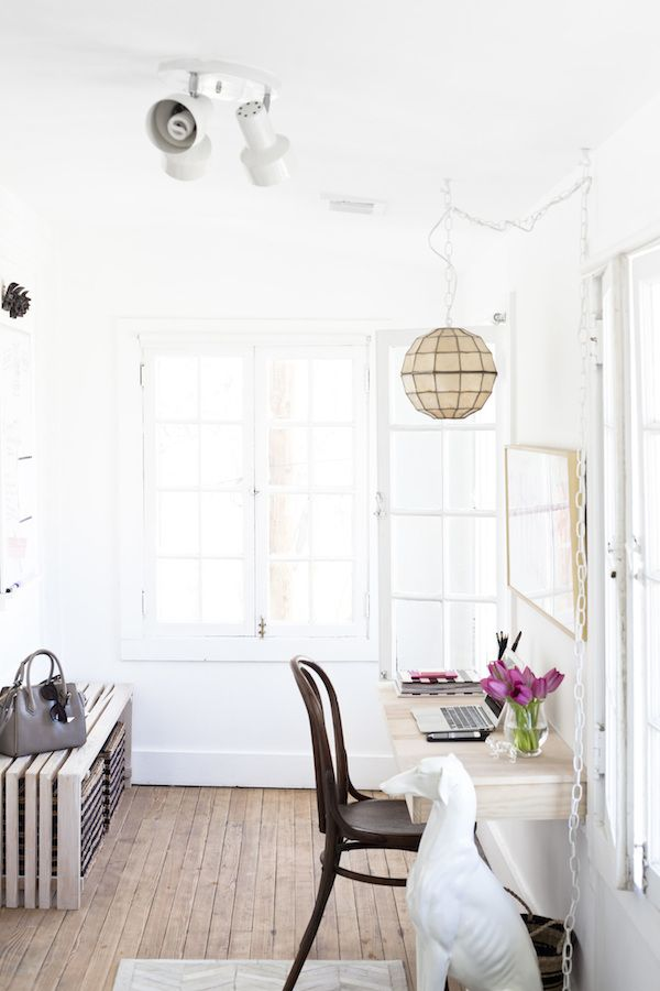 my scandinavian home the lovely light filled workspace of a blogger and nutritionist