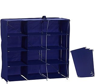 Pop-It Collapsible 12 Qube Organizer with Dividers