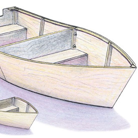 Build a Wooden Boat - DIY | Wooden boats, Mother earth news and ...