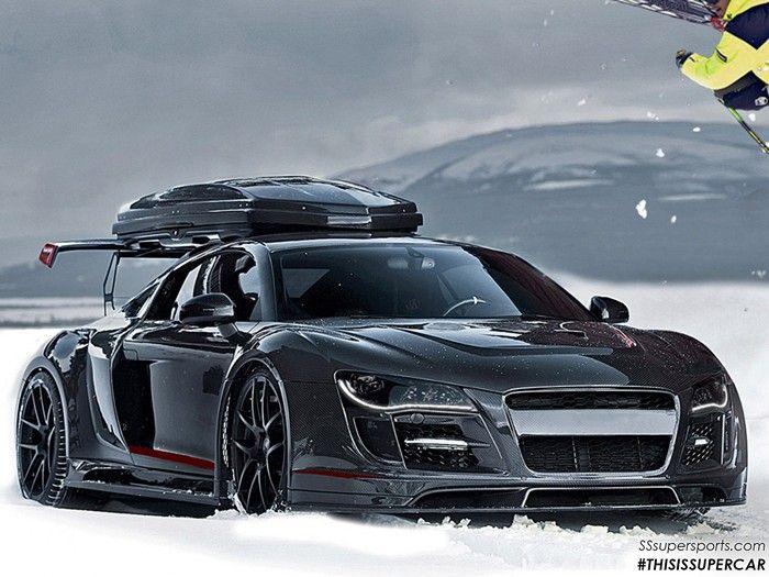 Audi R8 Razor Gtryes That Is A Cargo Box Sitting On Top Of Spoiler It Amazing: Fuse Box Audi R8 At Eklablog.co