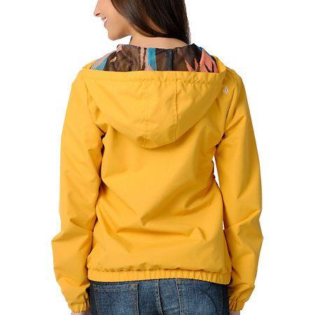 3e6114a53 Volcom Girls Enemy Lines Mustard Windbreaker Jacket