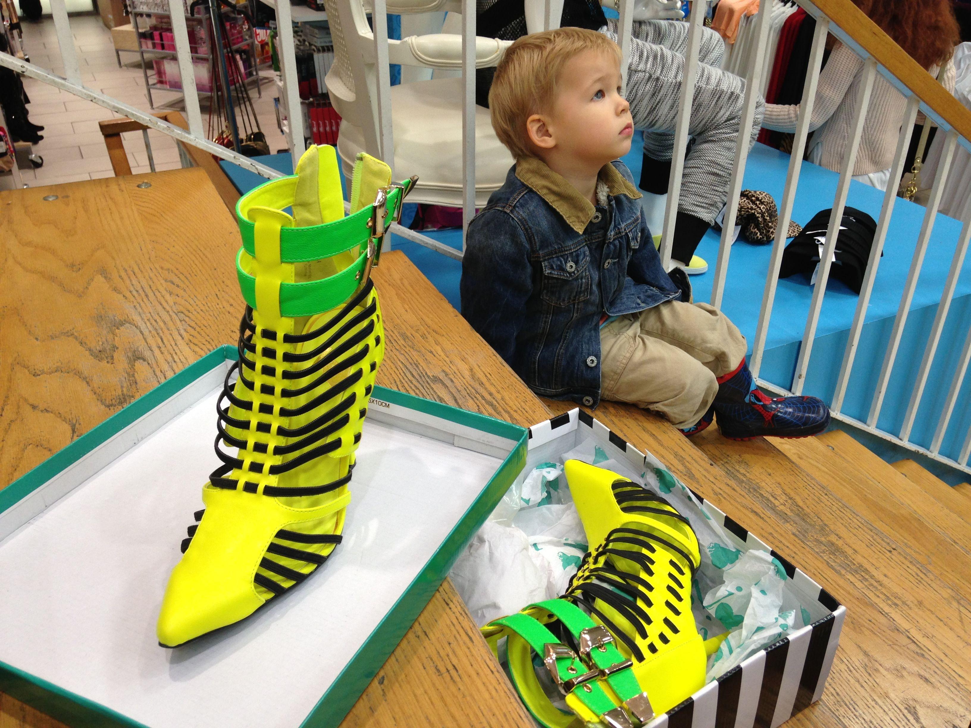 #ShoeShopping takes time!