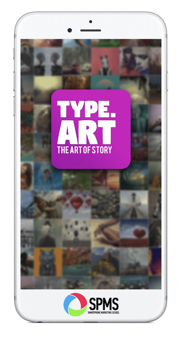Type Art Animated Text App for Stories Text animation
