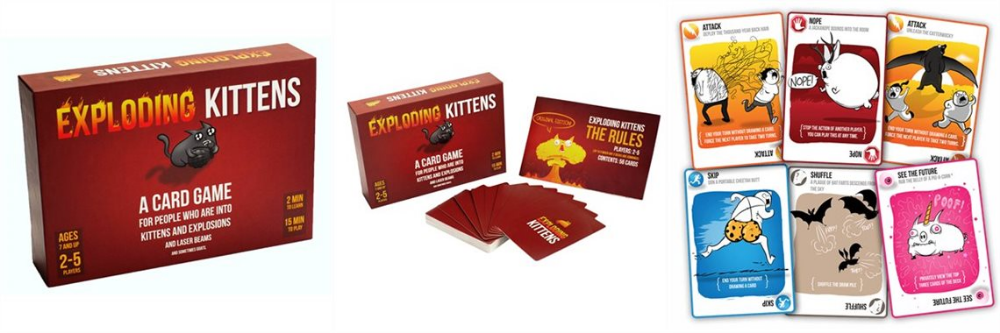 Pin by Sonia Kandah on Voids Exploding kittens, Board