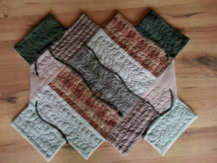 Quilt bag tutorial. jangalbabe quilted bag patchwork bags