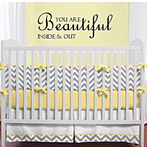 Baby nursery decor, baby girl nursery decor, baby girl saying, baby ...