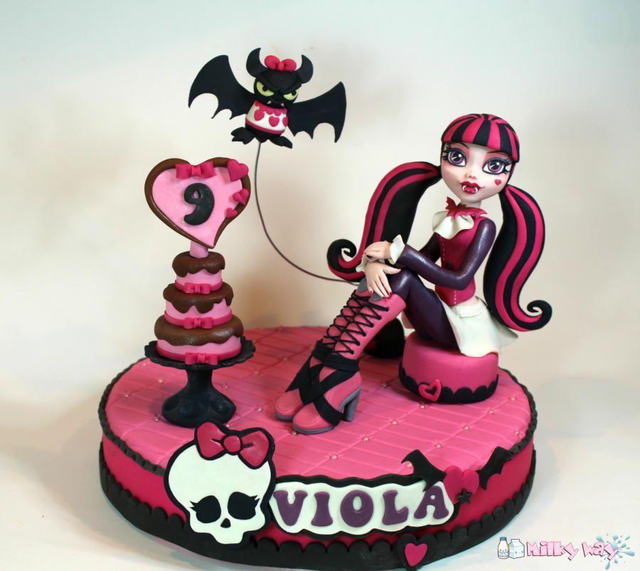 Super monster high cake draculaura - Google Search   SweetFood  PK73