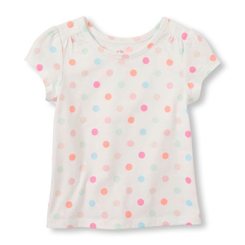 Love Gymnastics Pink Toddler Girls T Shirt Kids Cotton Short Sleeve Ruffle Tee