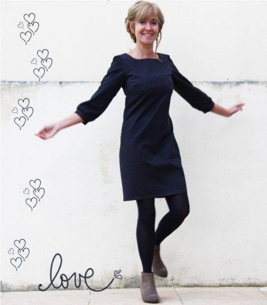 La petite robe Vanessa Pouzet | Vestidos camiseta, Costura y Camisetas