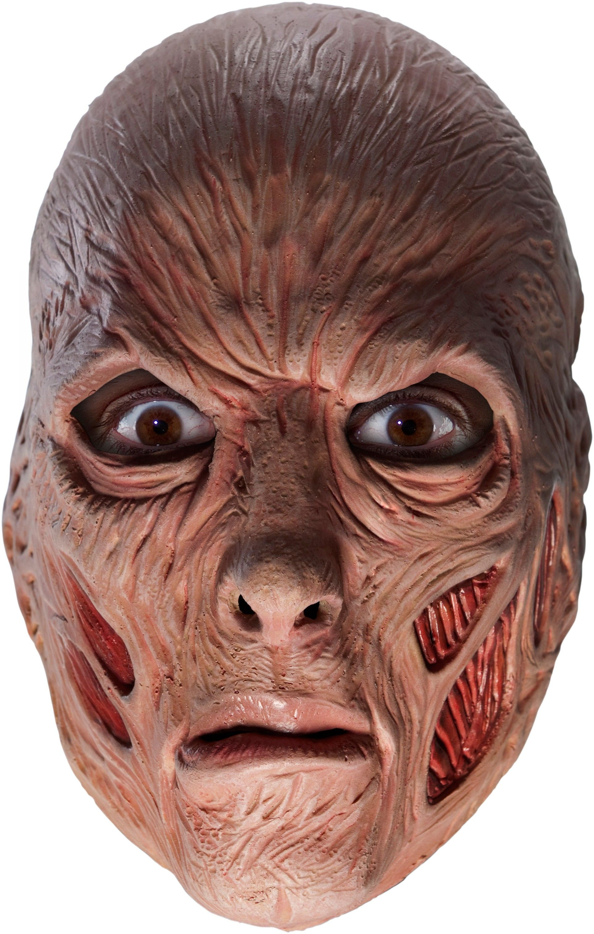 A Nightmare On Elm Street - Freddy 3/4 Vinyl Adult Mask   A ...