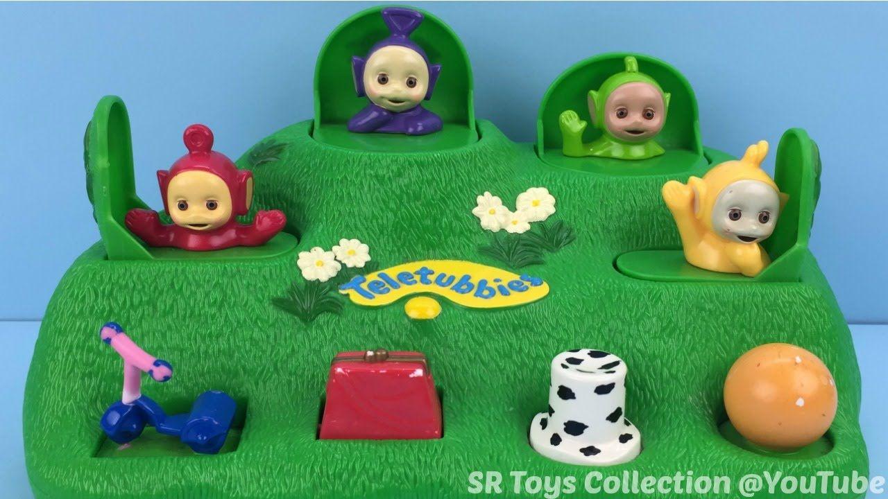 Teletubbies Pop Up Toy Laa laa Dipsy Tinky Winky Po Surprise Eggs ...