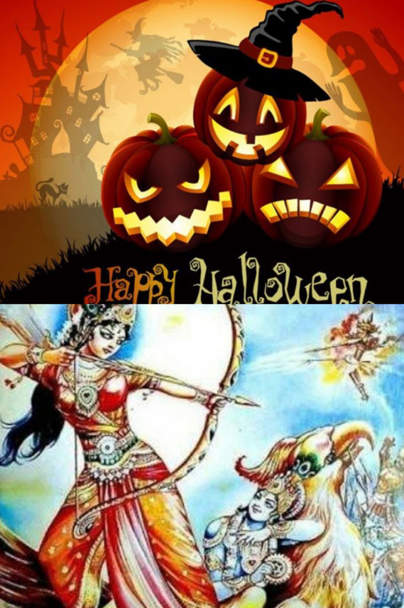 KALI CHAUDAUS (THE INDIAN HALLOWEEN.) (With images