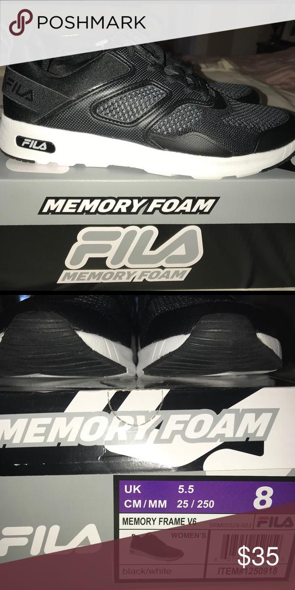 7678a22210e2 Fila Memory Foam shoes Fila Memory Frame V6 shoes. Brand new w box ...
