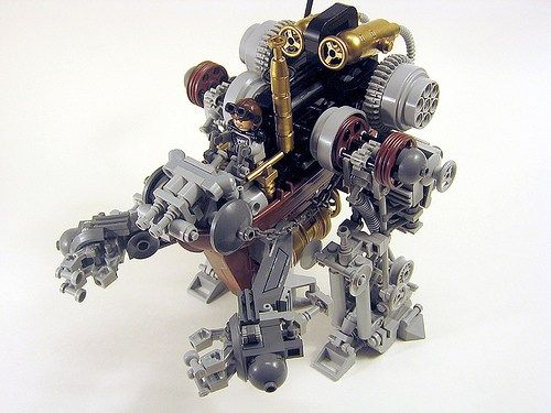 The crazy steampunk machine | The Brothers Brick | LEGO Blog